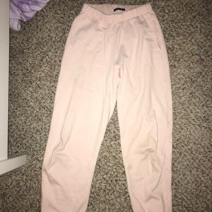 pink rosa sweats from brandy melville!